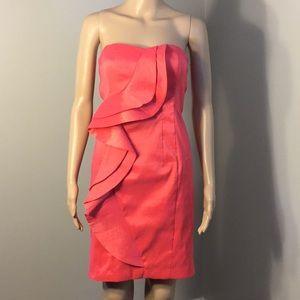 JESSICA SIMPSON : STRAPLESS COCKTAIL DRESS:  Sz 4